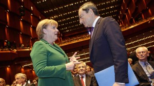 Merkel trifft auf Draghi