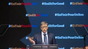 Ein Wahlappell von Bill Gates