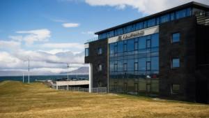 Die Großbank, die Island über den Kopf wuchs