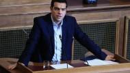 Athen vor Kurswechsel