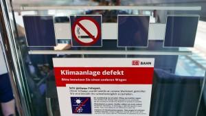 Bahn erlaubt Stornierungen wegen Hitze