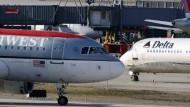 Turbulente Zeiten für Fluggesellschaften