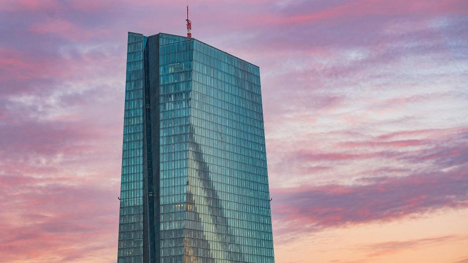 EZB-Turm in Frankfurt