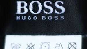 Hugo Boss nach gutem Ausblick gefragt