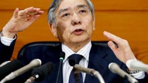 Haruhiko Kuroda verfehlt sein Inflationsziel
