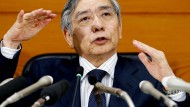 Japans Notenbankgouverneur Haruhiko Kuroda