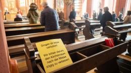 Steuereinnahmen der Kirchen brechen ein