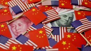Chinas Währung gewinnt gegenüber dem Dollar