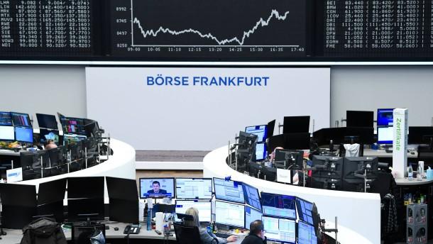 Deutsche Aktien deutlich im Minus