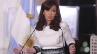 Argentiniens Präsidentin, Cristina Fernandez de Kirchner