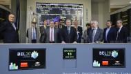 Börsengang von Barco und WDP an der Euronext im März: Auch hier verlangsamt sich das Geschäft.