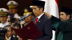 Neuer Präsident Widodo gibt Indonesien Hoffnung