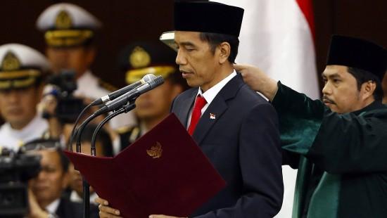 Neuer Präsident vereidigt