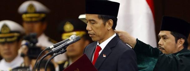 Nicht nur optisch, sondern auch politisch: Der neue Präsident Joko Widodo wird schon als indonesische Version Barack Obamas gehandelt.
