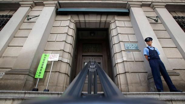 Bank von Japan sieht Ende der Deflation