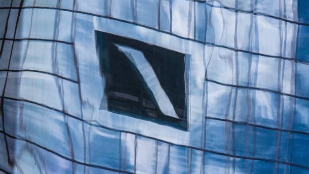 Aktienkurs der Deutschen Bank auf Rekordtief