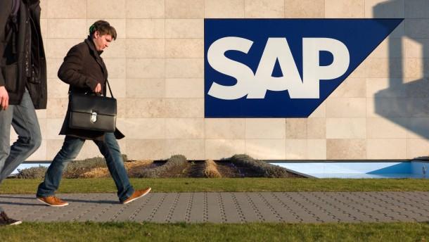 Rosige Aussichten für SAP