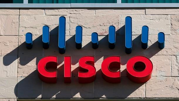 Cisco verdient am boomenden Internet