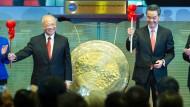 Schanghai-Aktien gibt's in Hongkong billiger