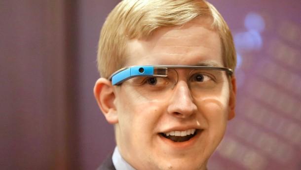 Unterstützung für Googles Brille