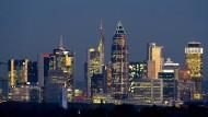 Frankfurts Sykline: Ein Yale-Professor behauptet nun, dass die Finanzen die Zivilisation erst ermöglichte.
