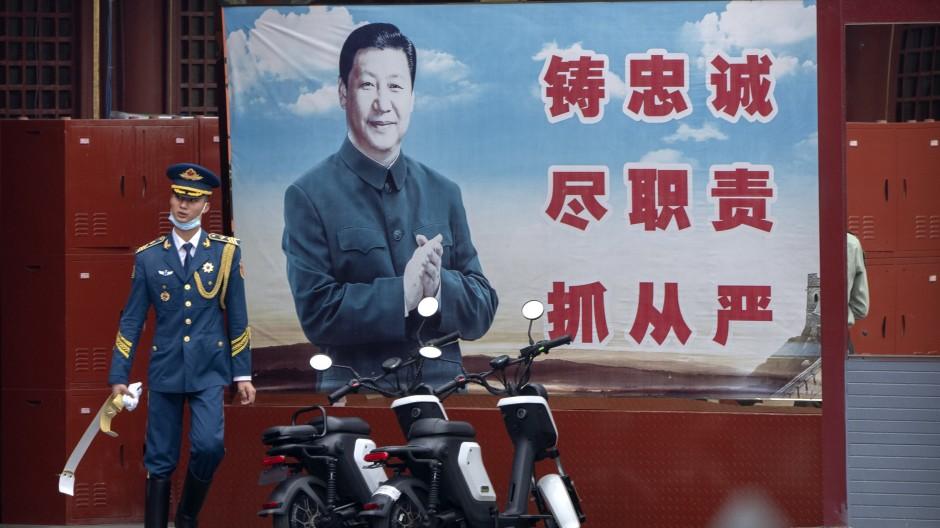China: Der Große Bruder hat einen immer im Blick.