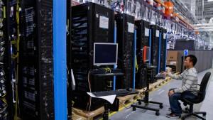 Hewlett-Packard profitiert von Einsparungen