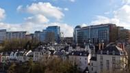 Beschauliche Stadt im Wandel: Am Finanzplatz Luxemburg mussten in den vergangenen Jahren viele Altbauten weichen.
