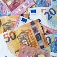 Euro-Banknoten sind in der Krise begehrt