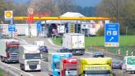 Tankstelle und Rasthof an der A8