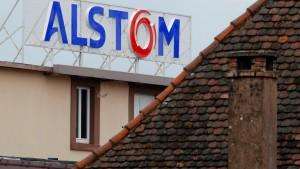 Alstom nach Übernahmegerüchten 13 Prozent im Plus