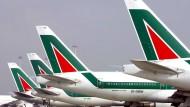 Es hätte Europas Pleite des Jahres werden können: Doch Alitalia wird wohl doch noch einmal gerettet.