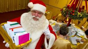 Schon rund 12.000 Briefe für den Weihnachtsmann