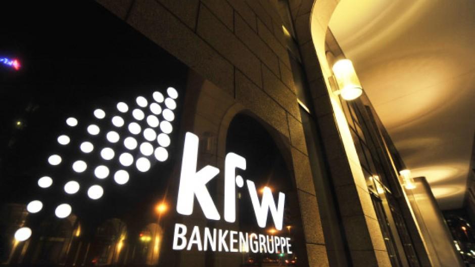 Fleißiger Kronen-Emittent: die KfW