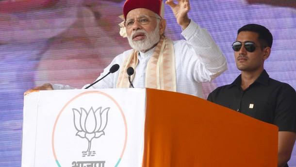 Ökonomen sorgen sich um Indiens Wachstumsrate