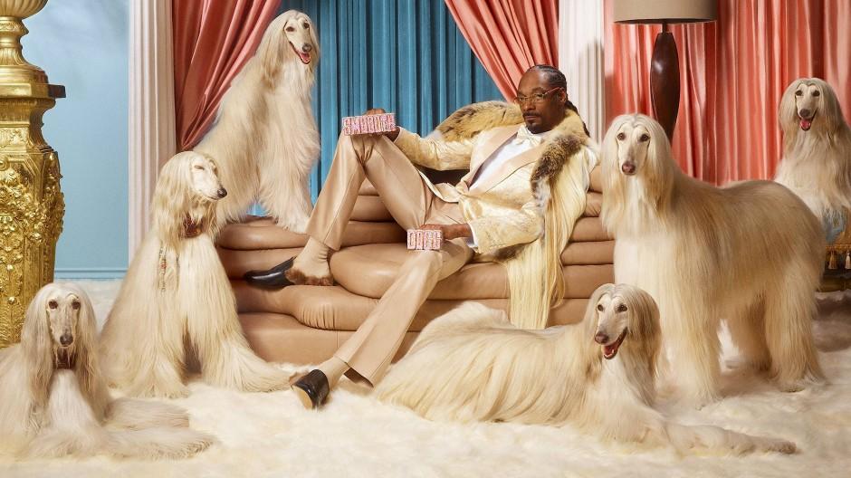 Entspannt einkaufen: Der Entertainer Snoop Dogg wirbt für den Finanzdienstleister Klarna.
