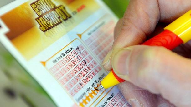Wieder gewinnt ein Hesse viel Geld im Eurojackpot