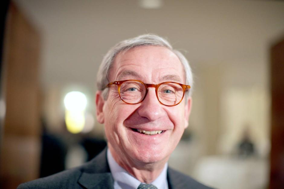Der frühere Henkel-Chef Ulrich Lehner hat als Aufsichtsratschef bei Thyssen-Krupp momentan nicht viel zu lachen.