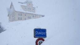 Weltwirtschaftsforum beginnt in Davos