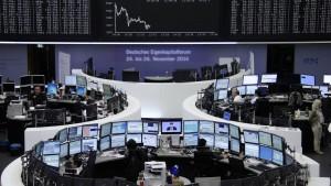 Euro auf dem tiefsten Stand seit elf Monaten