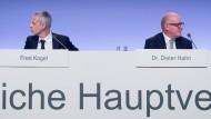 Unter Beschuss: Constantin-Aufsichtsratschef Hahn (r) und Vorstandschef Kogel