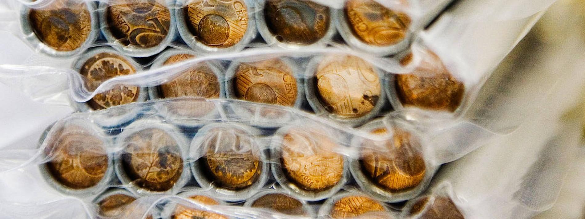 Den kleinsten Münzen geht es an den Kragen