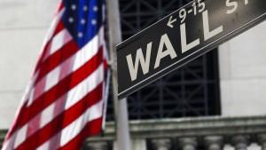 Ölwerte stützen schwache Wall Street