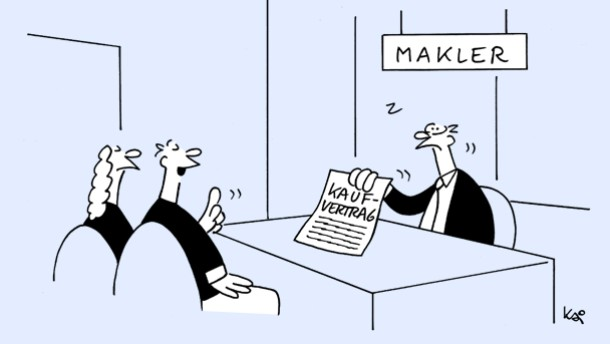 Karikatur / Kai / Scheidungsverbotsklausel
