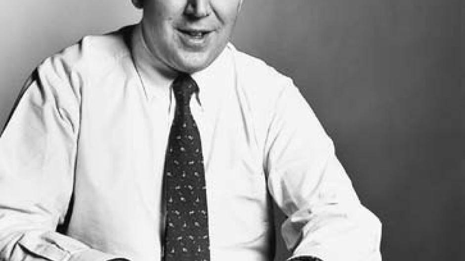 Stanley Fink, CEO der Man Group plc