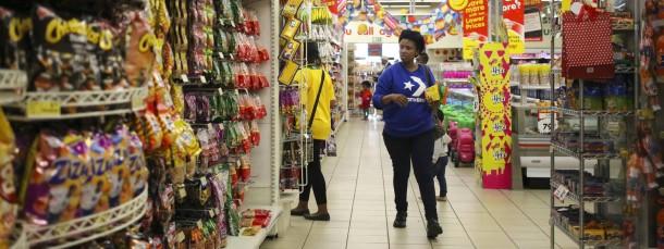 Filiale von Shoprite in Johannesburg