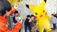 Pokémon - nicht nur japanische Kinder stehen auf die Figur.