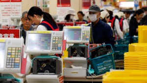 Höhere Steuern dämpfen Japans Optimismus
