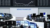 Handelssaal der Frankfurter Börse (Archivbild)