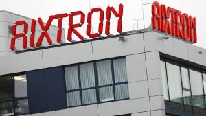 Aixtron begeistert Anleger mit höheren Gewinnaussichten